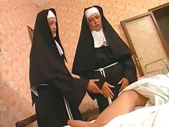 These two nuns are liking that hard...