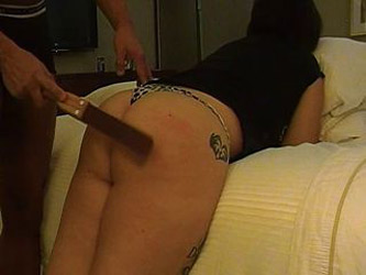 older vid spanking my wife with leather strap