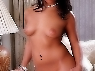 Horny latina gets her pussy pounded