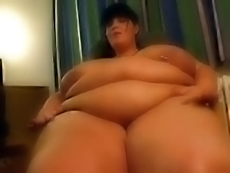 Ssbbw Brunette Allows Her Fuckma...
