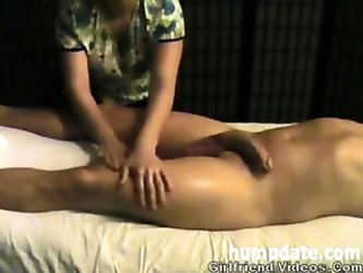 Slow Handjob, Balls Massage