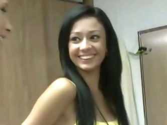 Watch real girlfriends take turns