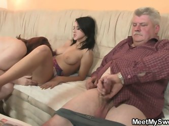 Mom and dad fucks my girlfriend
