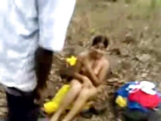 Indian Teen Girl Enjoy Sex In Forest