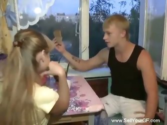 Horny dude fucks desperate teen