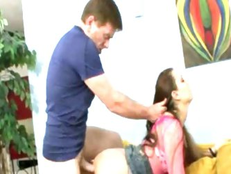 Teen babe rochelle fucked hard by step dad