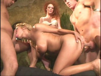 Trina gets rocked with double anal
