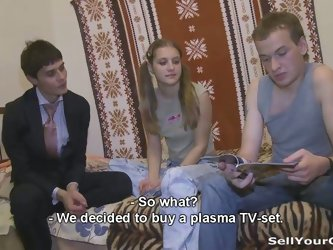 Girlfriend for a televison?