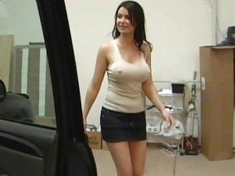 My girlfriend's mother Eva Karera