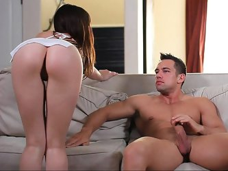 Naughty teen Capri in love