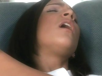 Cute schoolgirl Sabrina Sweet gets her ass fucked