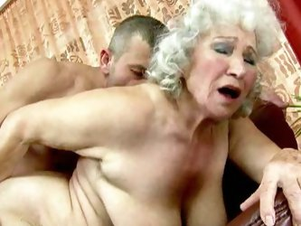 Granny norma needs young dick