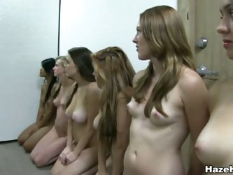 Naked sorority fuck action for these hot teen girls