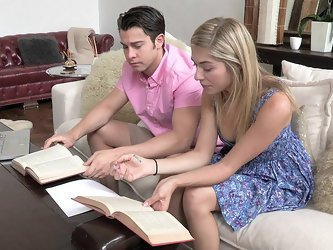 Lia was curiously attracted to Mark's mom