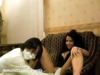 defloration of italian latina babe and threesome double sex for first time