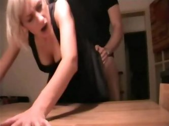 Hot Couple Amateur Before Party