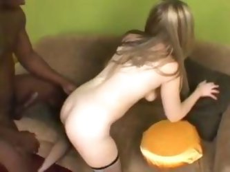 Tiny Teen Ass, Scene 2 girlfriend fucked by black