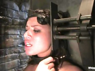 Eva Angelina enjoys being tortured and banged by Sandra Romain