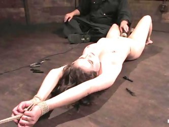Stunning Charlotte Vale gets dominated by her master
