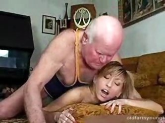 Grandpa Fucks His Teen Hooker for Cash