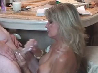 MILF mom Helps guy Pass His Test