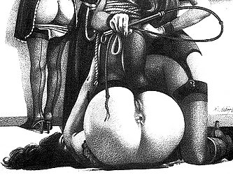 Dubigeon shares his realistic style of incredible BDSM and porn drawings with us and they take the breath away in every shot.