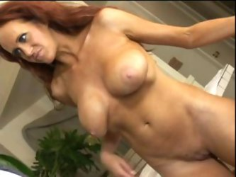 Big boobed MILF uses all her holes
