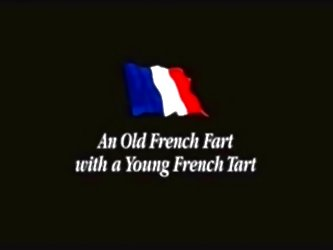 Old French Fart With Young Tart