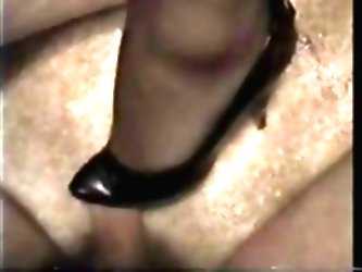 Shoe Job Leads To Kinky Sex