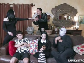 Addams Family Orgy Full