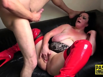 Bound fetish milf whipped