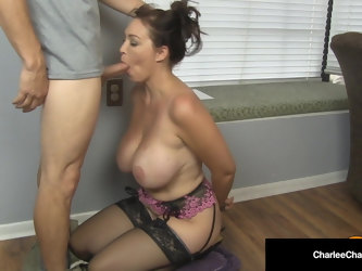 Suck My Husband's Boss Cock? Charlee Chase Aims To Please!