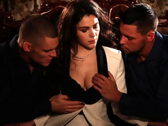 Erotic pussy licking and fucking threesome with Valentina Nappi