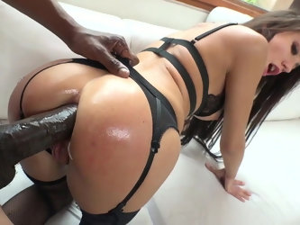 Interracial Monster Anal Gape