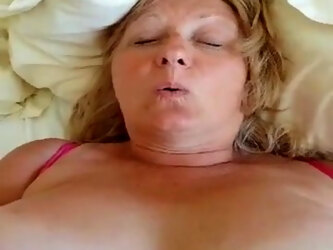 Chubby British mature gets pounded missionary