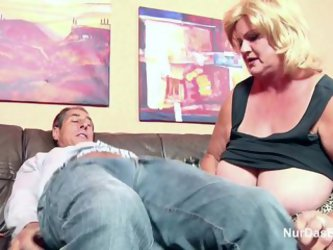 Monster Tit Granny Fucks Big Dick Grandpa