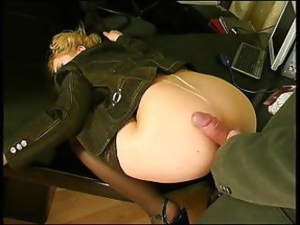 Hot Secretary Loves Anal
