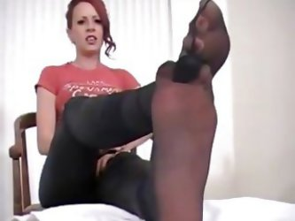 Miss Crash Destroys Her Stockings