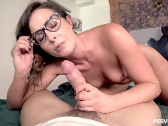 After fingering and dick licking Helena Price is ready for a hard sex