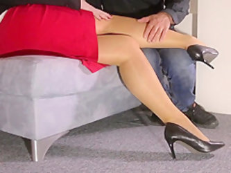 Lady and Foot Slave