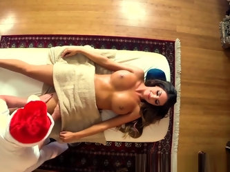 Busty Beauty Banged After An Erotic Massage