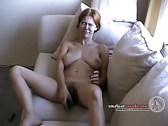 Hairy Native wife flashes huge tits on balcony then fingers