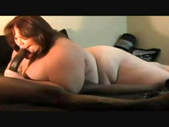 BBW is a blowjob queen