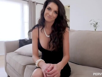 Silvia Sage is a smashing, mature brunette who is always in the mood for casual sex