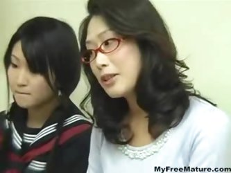 Mom Having Sex While Her Daughter Studying