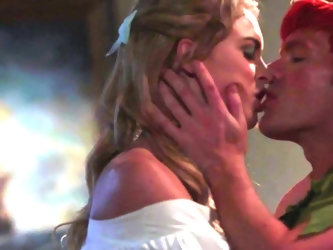 In the traditional story you don't get to see Peter and Wendy fucking. Thankfully there's this hot porn parody to show us what it would look