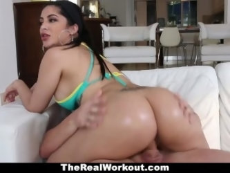 TeamSkeet - Curvy Cuban Babe Fucks Beach Volleyball Coach