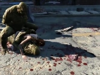 Fallout 4 Elie Supermutants ambush