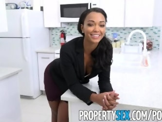 PropertySex - Hot property manager fucks pissed off tenant