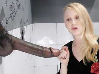 Lily Rader Sucks And Fucks Big Black Dick - Gloryhole